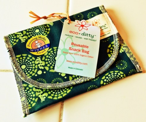 Paperless Kitchen Ecoditty Reusable Snack Bag