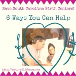 6 Ways You Can Help SC Birth Centers Stay Open