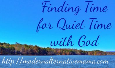 Finding Time for Quiet Time with God: A Little Bit of All of It