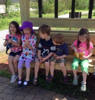 Playdate on the Swamp Rabbit Trail