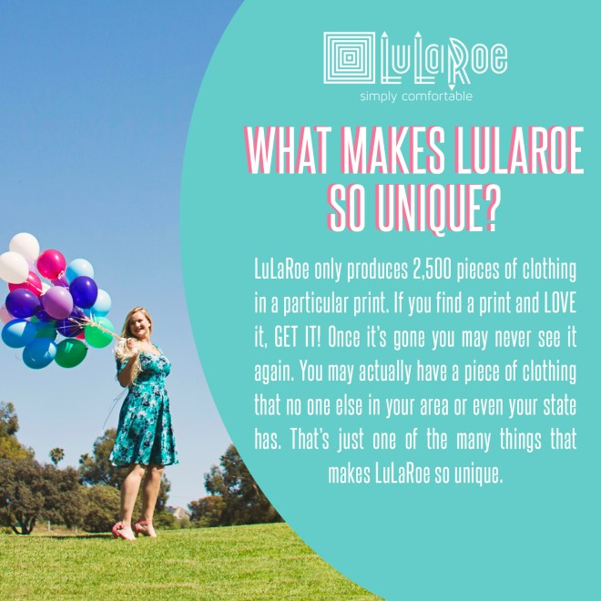 Lularoe Unique Posts