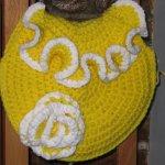 sunshine crochet handbag by Sereda Dailey