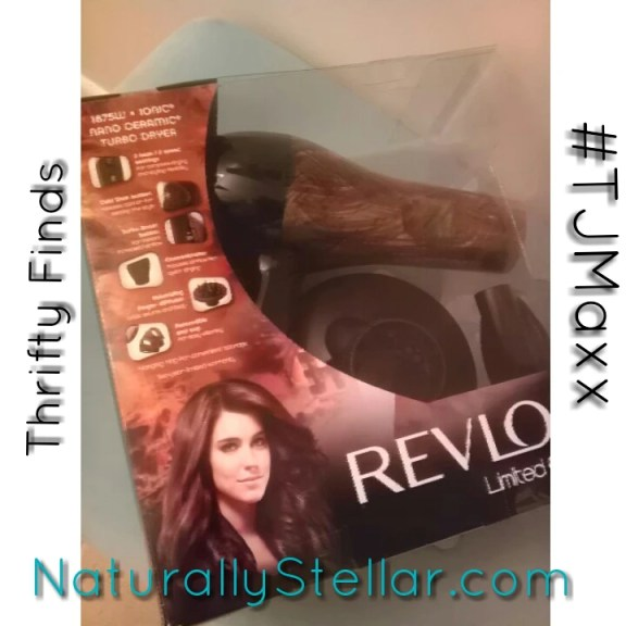 TJMaxx, Maxxinista, NaturallyStellar, Thrifty, Beauty, Hair Dryer, Revlon, Hair Tools, Deals