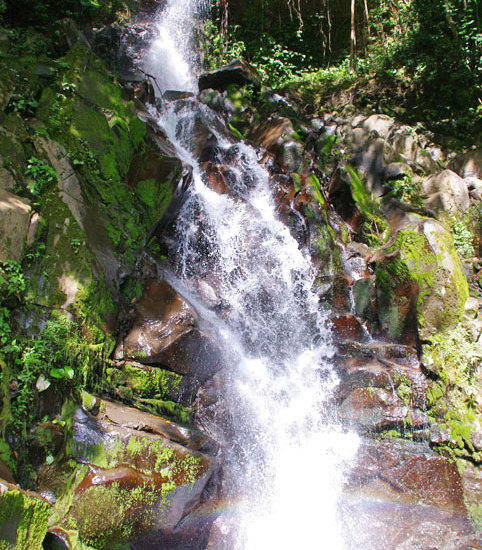 Waterfall near Boquete Chiriqui Panama