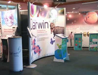Darwin exhibition