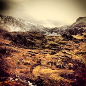 """Toward Tryfan"" Copyright Andrew Hodgson 2013"