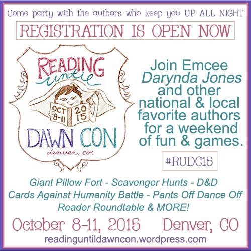 #RUDC15 Reading Until Dawn Con Oct 8-11 2015