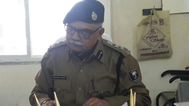आईपीएस मंसूर अहमद; अपमान से आहत