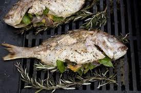 BBQ whole fish