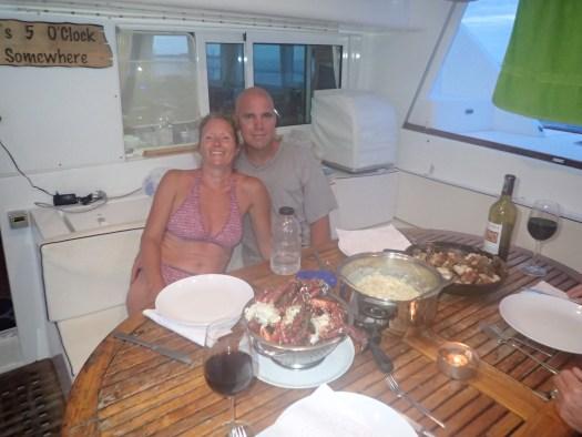Dinner aboard FMD