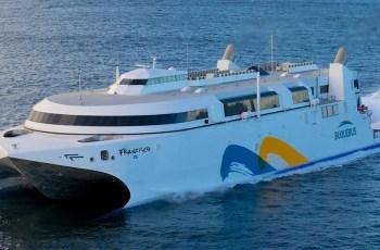 Francisco de Buquebus ,  el buque de pasajeros más rápido del mundo