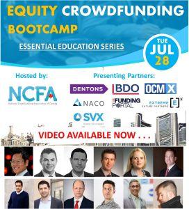 Equity Crowdfunding Bootcamp webinar