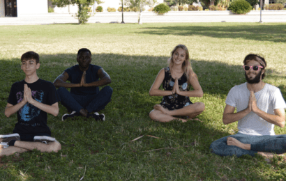 SUBMISSION: Yoga at New College!