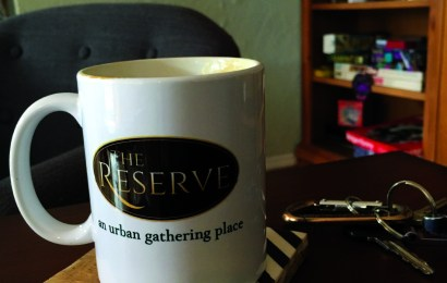 The Reserve:  a cozy place to get work done