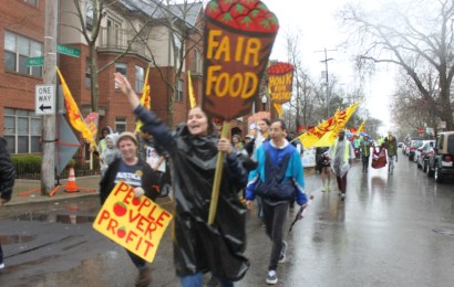Students join hundreds in Columbus, Ohio for CIW's weekend of action