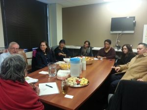 Colorado advocates in their meeting