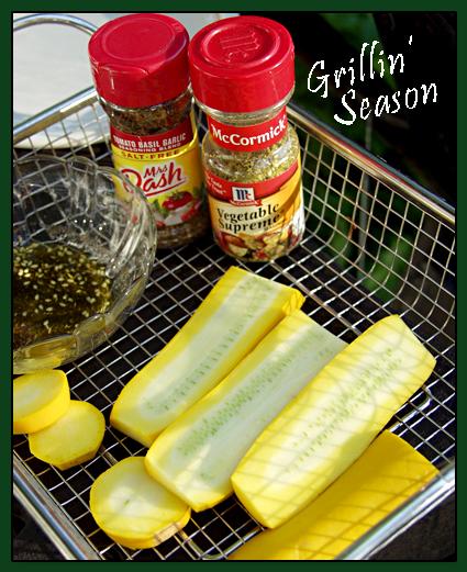 Grilling Yellow Zucchini