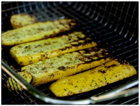 Grilled Yellow Zucchini