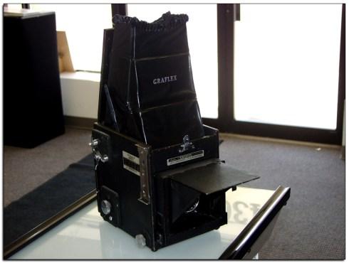 Graflex camera