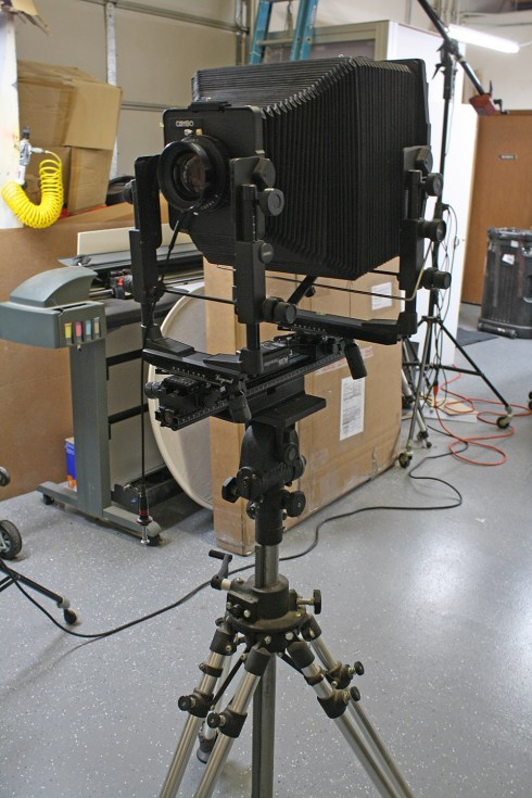 8x10 Film View Camera