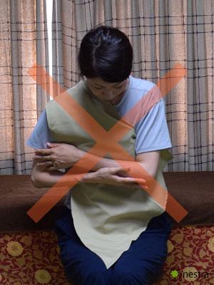 三角巾-巻き方4