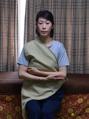 三角巾-巻き方3