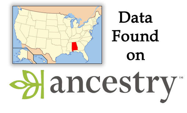 What Alabama Data is on Ancestry.com