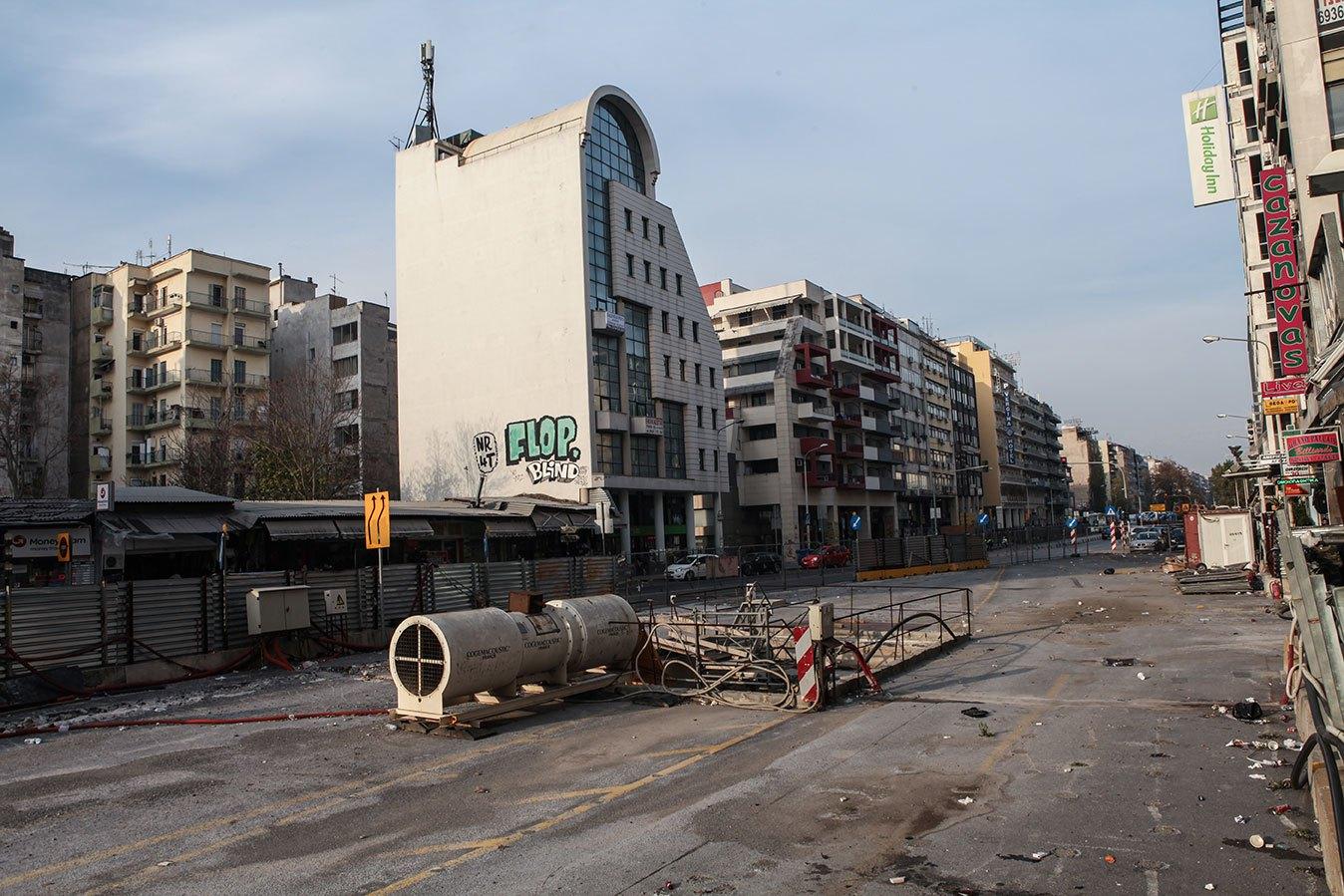 Vincent Berthe: Austerity In Thessaloniki, Greece | Near Futures