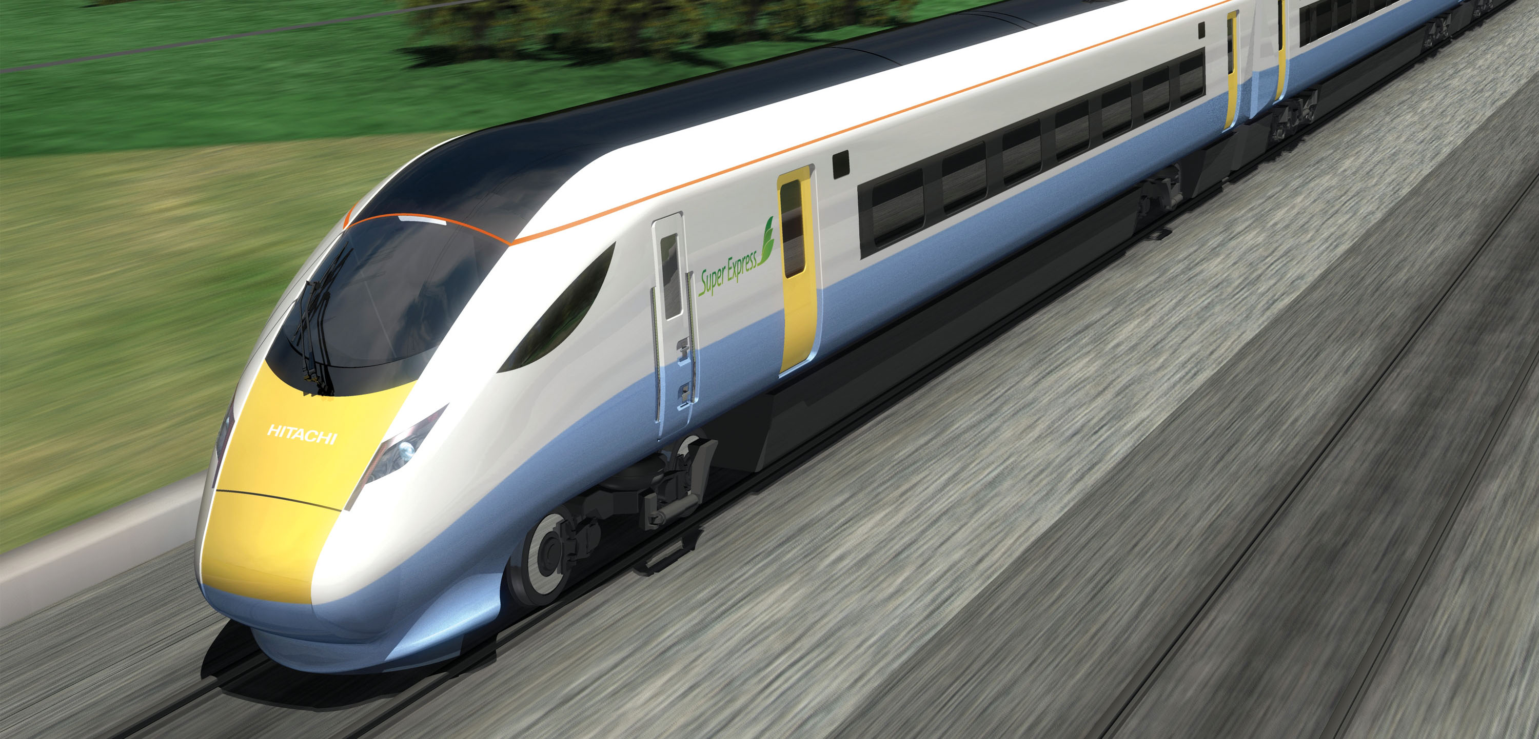 Hitachi Super Express Train - Joint Meeting with IET