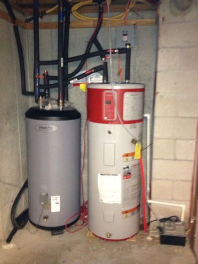 The above Hybrid Water Heater reduces grid load and uses green electricity more efficiently