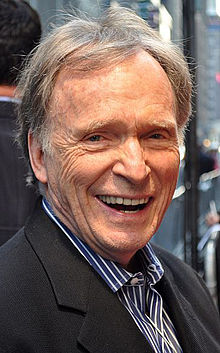 Dick Cavett, writer, talk show host, Gibbon and Lincoln, NE.