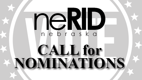 neRID Elections: Call for Nominations
