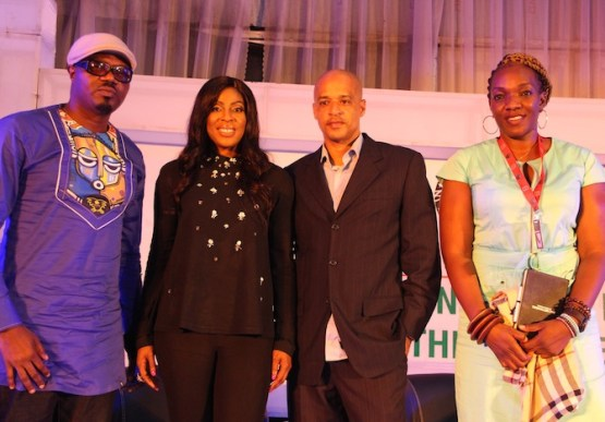 DJ-JIMMY-JATT-FOUNDER-EBONYLIVE-TV-MO-ABUDU-CEO-960-MUSIC-MARK-REDGUARD-BUKI-SAWYERR-DURING-THE-PANEL-DISCUSSION