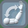 ArtPose   リアルなのに驚くほどよく動く。好きなポーズでスケッチできる3DCG人体ポーズモデルアプリ