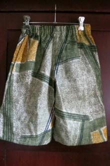 Barkcloth shorts