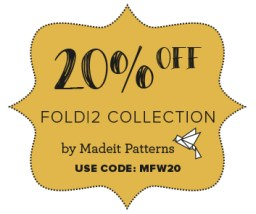 20% OFF Madeit patterns