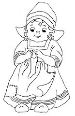 Embroidery patterns: Trick or treat kids