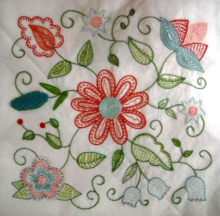 Embroidery Quilt Block Designs : Free patterns: Embroidered quilt blocks Needle Work
