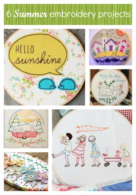 6_summer_embroidery_projects