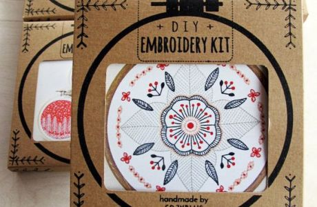 Cozyblue Embroidery Kits