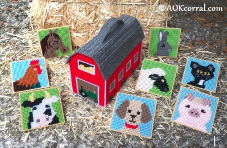 Barn Yard Fun Plastic Canvas Patterns