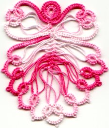 Hairpin & Tatting Angel Pattern