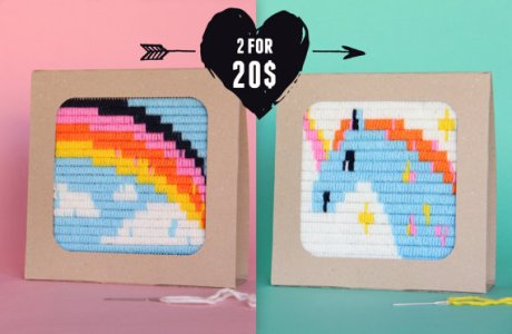 Etsy Product Feature – Unicorn And Rainbow