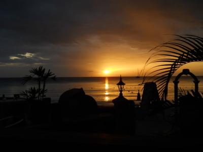 Lovely sunset from Kuyaba - June 23, 2011
