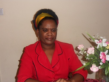 The exiled founder of the Girl Child Network (GCN) Betty Makoni
