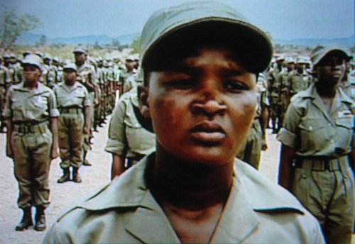 Zanu PF Youth Militia infamously known as the Green Bombers