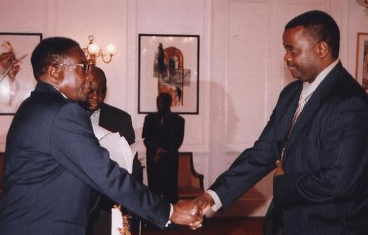 Mugabe swears in Edward Chindori Chininga into cabinet