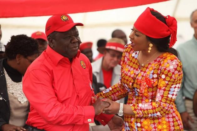 Morgan and Elizabeth Tsvangirai