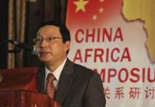Chinese ambassador to Zimbabwe, Lin Lin