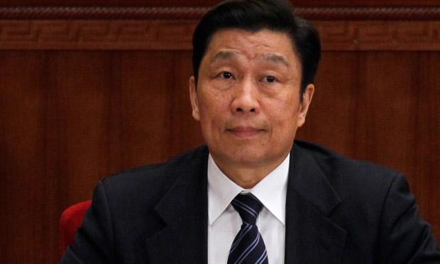 Chinese vice President Li Yuanchao